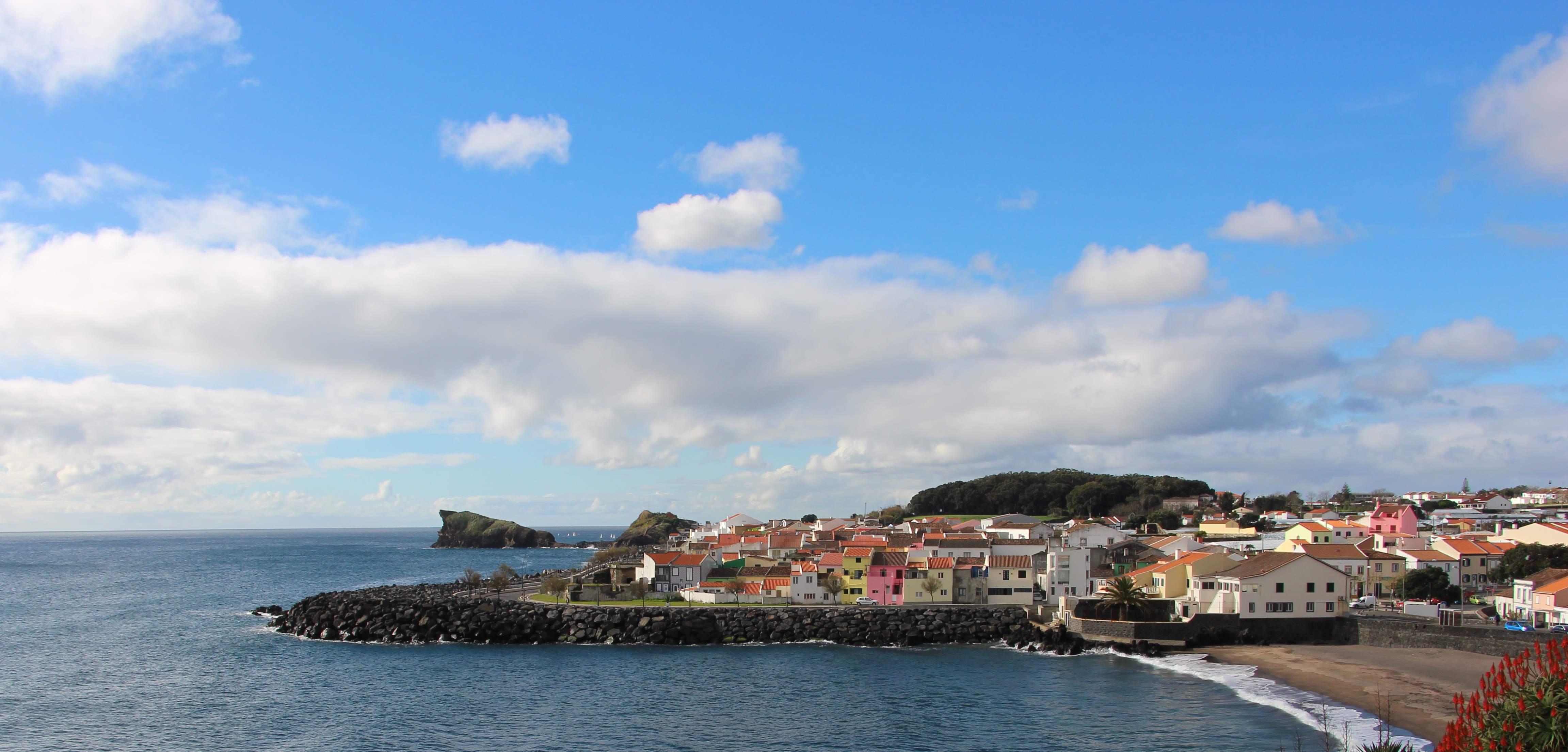 Visiting the Azores, Ponta Delgada View